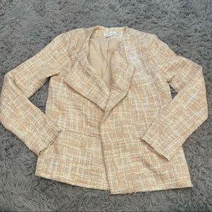 Lovers and Friends Tweed Open Blazer Jacket